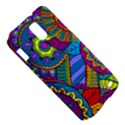 Pop Art Paisley Flowers Ornaments Multicolored Samsung Galaxy S II Skyrocket Hardshell Case View5
