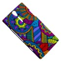 Pop Art Paisley Flowers Ornaments Multicolored Sony Xperia S View5