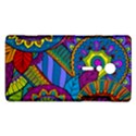 Pop Art Paisley Flowers Ornaments Multicolored Sony Xperia ion View1