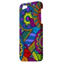 Pop Art Paisley Flowers Ornaments Multicolored Apple iPhone 5 Hardshell Case View3