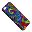 Pop Art Paisley Flowers Ornaments Multicolored Apple iPhone 5 Hardshell Case View5