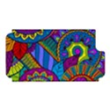 Pop Art Paisley Flowers Ornaments Multicolored Apple iPhone 5 Hardshell Case (PC+Silicone) View1