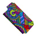Pop Art Paisley Flowers Ornaments Multicolored Apple iPhone 5 Hardshell Case (PC+Silicone) View5