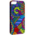 Pop Art Paisley Flowers Ornaments Multicolored Apple iPhone 5 Classic Hardshell Case View2