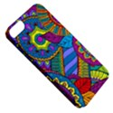 Pop Art Paisley Flowers Ornaments Multicolored Apple iPhone 5 Classic Hardshell Case View5