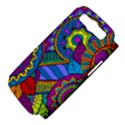 Pop Art Paisley Flowers Ornaments Multicolored Samsung Galaxy S III Hardshell Case (PC+Silicone) View4