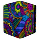 Pop Art Paisley Flowers Ornaments Multicolored Apple iPad 2 Flip Case View4