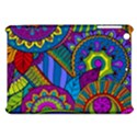 Pop Art Paisley Flowers Ornaments Multicolored Apple iPad Mini Hardshell Case View1