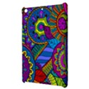 Pop Art Paisley Flowers Ornaments Multicolored Apple iPad Mini Hardshell Case View3