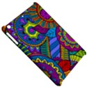 Pop Art Paisley Flowers Ornaments Multicolored Apple iPad Mini Hardshell Case View5