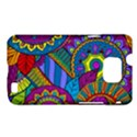Pop Art Paisley Flowers Ornaments Multicolored Samsung Galaxy S II i9100 Hardshell Case (PC+Silicone) View1