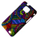Pop Art Paisley Flowers Ornaments Multicolored Samsung Galaxy S II i9100 Hardshell Case (PC+Silicone) View4