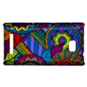Pop Art Paisley Flowers Ornaments Multicolored HTC 8X View1
