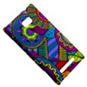 Pop Art Paisley Flowers Ornaments Multicolored HTC 8X View5