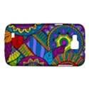 Pop Art Paisley Flowers Ornaments Multicolored Samsung Galaxy Premier I9260 Hardshell Case View1