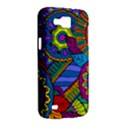 Pop Art Paisley Flowers Ornaments Multicolored Samsung Galaxy Premier I9260 Hardshell Case View2
