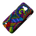 Pop Art Paisley Flowers Ornaments Multicolored Samsung Galaxy Premier I9260 Hardshell Case View4