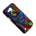 Pop Art Paisley Flowers Ornaments Multicolored Samsung Galaxy Premier I9260 Hardshell Case View5