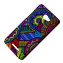 Pop Art Paisley Flowers Ornaments Multicolored HTC Butterfly X920E Hardshell Case View4