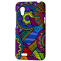 Pop Art Paisley Flowers Ornaments Multicolored HTC Desire VT (T328T) Hardshell Case View3