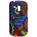 Pop Art Paisley Flowers Ornaments Multicolored Samsung Galaxy S3 MINI I8190 Hardshell Case View2