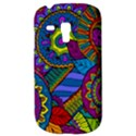 Pop Art Paisley Flowers Ornaments Multicolored Samsung Galaxy S3 MINI I8190 Hardshell Case View3