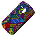 Pop Art Paisley Flowers Ornaments Multicolored Samsung Galaxy S3 MINI I8190 Hardshell Case View4