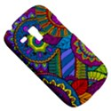 Pop Art Paisley Flowers Ornaments Multicolored Samsung Galaxy S3 MINI I8190 Hardshell Case View5