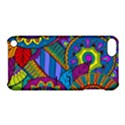Pop Art Paisley Flowers Ornaments Multicolored Apple iPod Touch 5 Hardshell Case with Stand View1