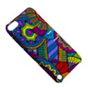 Pop Art Paisley Flowers Ornaments Multicolored Apple iPod Touch 5 Hardshell Case with Stand View5