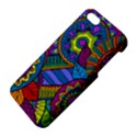 Pop Art Paisley Flowers Ornaments Multicolored Apple iPhone 5 Premium Hardshell Case View4