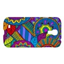Pop Art Paisley Flowers Ornaments Multicolored Samsung Galaxy S4 I9500/I9505 Hardshell Case View1