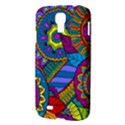 Pop Art Paisley Flowers Ornaments Multicolored Samsung Galaxy S4 I9500/I9505 Hardshell Case View3