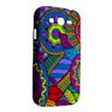 Pop Art Paisley Flowers Ornaments Multicolored Samsung Galaxy Grand DUOS I9082 Hardshell Case View2