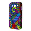 Pop Art Paisley Flowers Ornaments Multicolored Samsung Galaxy Grand DUOS I9082 Hardshell Case View3