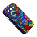 Pop Art Paisley Flowers Ornaments Multicolored Samsung Galaxy Grand DUOS I9082 Hardshell Case View5