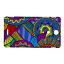 Pop Art Paisley Flowers Ornaments Multicolored Sony Xperia TX View1