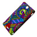 Pop Art Paisley Flowers Ornaments Multicolored Sony Xperia TX View4