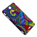 Pop Art Paisley Flowers Ornaments Multicolored Sony Xperia TX View5