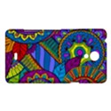 Pop Art Paisley Flowers Ornaments Multicolored Sony Xperia T View1