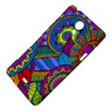 Pop Art Paisley Flowers Ornaments Multicolored Sony Xperia T View4