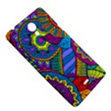 Pop Art Paisley Flowers Ornaments Multicolored Sony Xperia T View5
