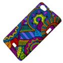 Pop Art Paisley Flowers Ornaments Multicolored Sony Xperia Miro View4