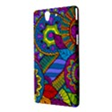 Pop Art Paisley Flowers Ornaments Multicolored Sony Xperia Z View3