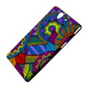 Pop Art Paisley Flowers Ornaments Multicolored Sony Xperia Z View4