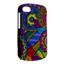 Pop Art Paisley Flowers Ornaments Multicolored BlackBerry Q10 View2