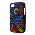 Pop Art Paisley Flowers Ornaments Multicolored BlackBerry Q10 View3
