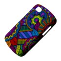 Pop Art Paisley Flowers Ornaments Multicolored BlackBerry Q10 View4