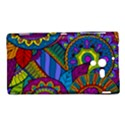 Pop Art Paisley Flowers Ornaments Multicolored Sony Xperia ZL (L35H) View1