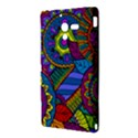Pop Art Paisley Flowers Ornaments Multicolored Sony Xperia ZL (L35H) View3